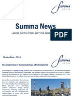 Summa Group News