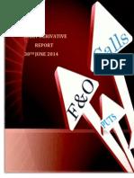 Derivative Report 30 June 2014