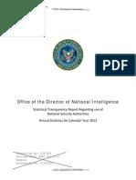 Rapport de Transparence de La NSA