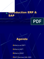 Introduction to Erp & Sap
