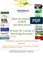 30th June,2014 Daily Exclusive ORYZA E-Newsletter by Riceplus Magazine