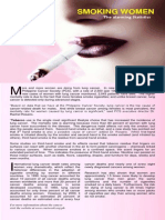 Smoking Women - The Alarming Statistics Fri, 3rd Sept 2010