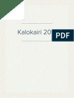 Kalokairi 2014