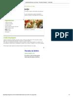 Salada de Brócolis Com Queijo - Receita de Saladas - ClickGrátis
