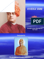 Swami Vivekananda Divine Message for the YOUTH