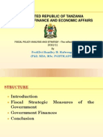 Fiscal Policy Analysis and Strategy.ppt 2