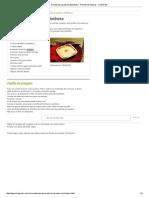 Receita de Lasanha á Bolonhesa - Receita de Massas - ClickGrátis