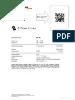 Flygbussarna E Ticket