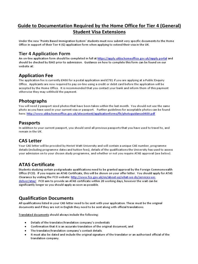 ISAO Guidance on Documentation Required | Travel Visa | Passport
