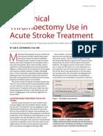 Thrombectomy in Acute Stroke