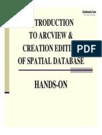 Digitize Using ArcView