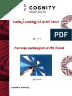 Cognity Kurs Excel- funkcja zaokr.pptx