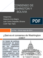 Exposición Consenso de Washington