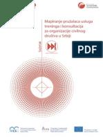 Mapiranje pružalaca usluga treninga i konsultacija za organizacije civilng društva u Srbiji