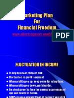 marketing plan for financial freedom - albert