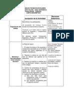 Carta Descriptiva 8 Sesion
