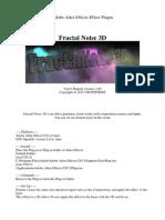 FractalNoise3D Manual