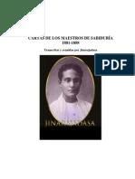 Cartas de Los Maestros de Sabiduría, 1881-1888 (C. Jinarajadasa) (1)
