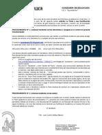 solicitud certificado 2014