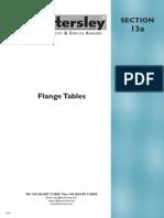 Flanges Dimensions