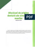 Afectiuni de Origine Dentara Ale Sinusului Maxilar