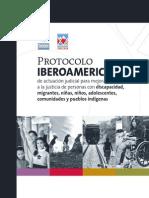 Protocolo Iberoamericano de Actuación Judicial