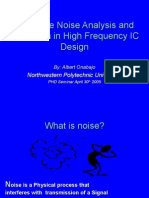 Substrate Noise Analysis and Reduction in High Frequency IC Design