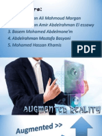 Augmented Reality - An Introduction to the World of Augementation