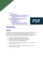 4690 POS Keyed Files Characteristics and Limitations