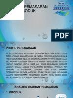 Bauran Pemasaran Produk Aqua