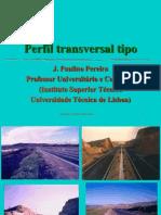 5 Vias Perfil Transversal
