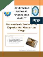 Monografia - Manjar Con Hongo (1)
