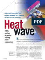 Heat wave- FPGAs confront increasing, evolving power consumption