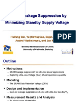 SRAM Leakage Suppression by Minimizing Standby Supply Voltage