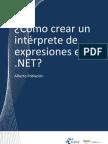 Cómo crear un intérprete de expresiones en .NET
