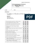 Cuestionario Para Identificar El Canal de Ingreso de La Informacin