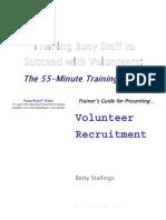 2TG Volunteer Recruitment