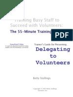7TG Delegating to Volunteers