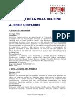 Catalogo Villa Del Cine