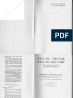Frederick Soddy - Wealth, Virtual Wealth and Debt (1926)