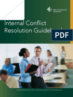 Conflict Resolution Guide