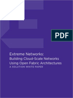 Building Cloud Scale Networks Using Open Fabric Architectures Wp