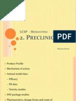 2. Preclinical Memantine 1