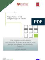"""étude Franche-Comté """"Efficacité énergétique, quels emplois pour demain ?""""-  Partie IV Annexes"""