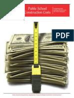 Texas Public School Construction Costs