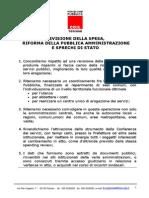 Dossier Sprechi Immobili Stato e Parastato, La Lista Di Fp Cgil Toscana