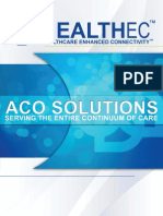 Healthec ACO Solutions - Transforming the Healthcare Industry