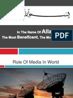 Presentation on Media Role FAROOQ