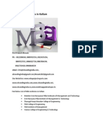 List of MBA Institutes in Kollam