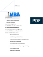 List of MBA Institutes in Patiala